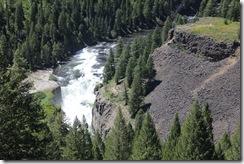 Lower Mesa Falls, Henry's Fork River, near Ashton, ID