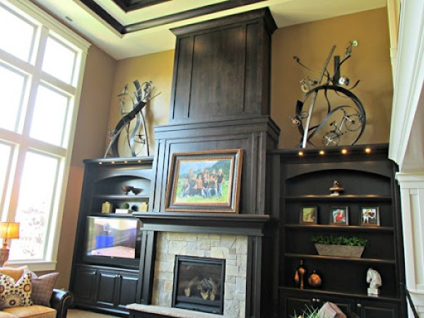 Cardboard by Sherwin Williams - living room paint color