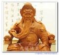 【呼叫UMC的楊大哥\^O^/】一尺三坐姿關聖帝君來嚕~原木及極彩手工精緻雕刻~有拿春秋和沒拿春秋的體~
