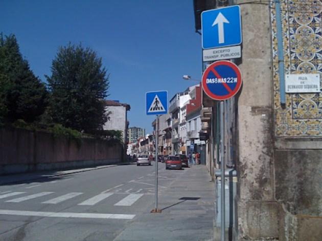 Rua D. Pedro V, em Braga
