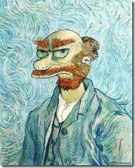 Self Portrait - Simpsons