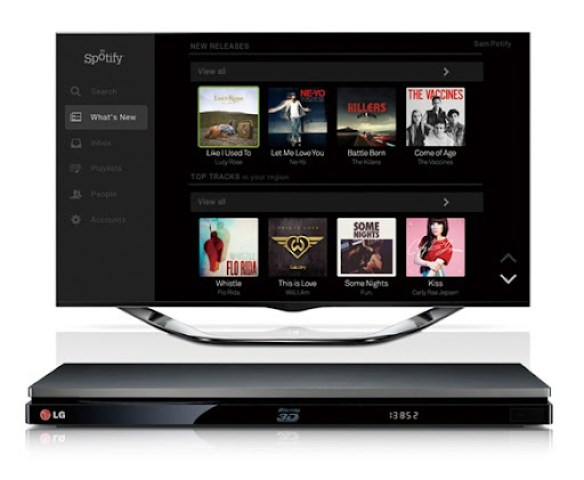 Spotify Launches on LG Smart Media Devices_2