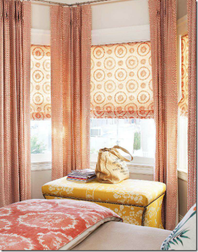Fabric Paint Walls Instead Curtain Rods