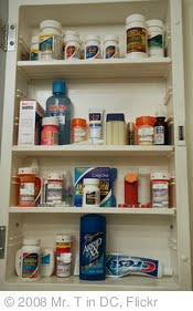 'My Medicine Cabinet' photo (c) 2008, Mr. T in DC - license: http://creativecommons.org/licenses/by-nd/2.0/