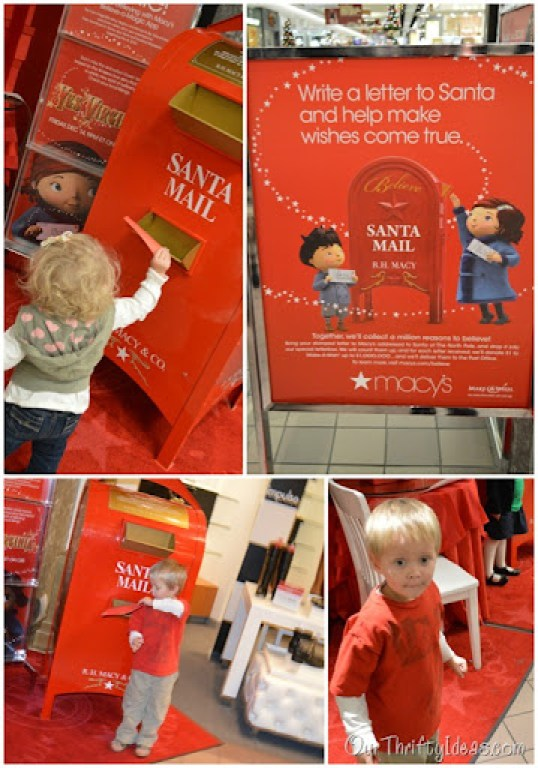Send a Letter at Macy's to benefit Make-A-Wish foundation