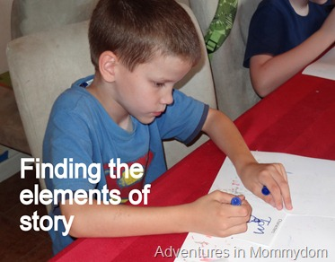 Finding the elements of story