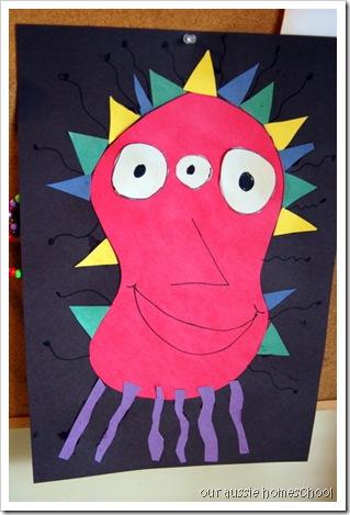 Our Aussie Homeschool ~ Home Art Studio K