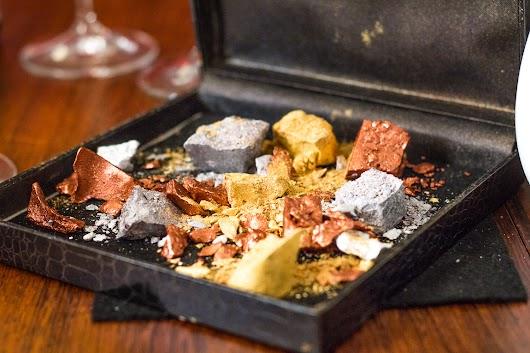 Chokolade som guld, sølv og bronze hos Malling og Schmidt - Mikkel Bækgaards Madblog