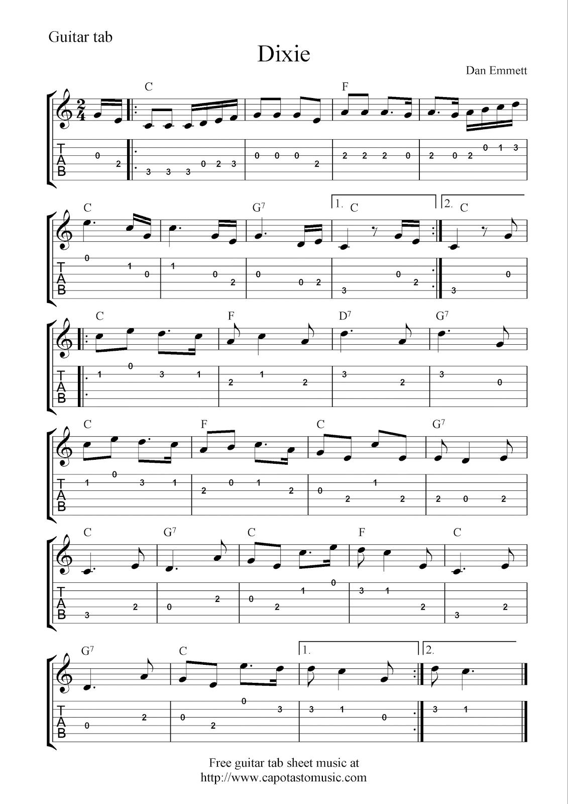 Sheet Music For Bass Guitar Smoke In The Water