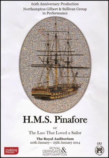 HMS Pinafore Brochure