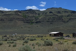 free! camping at Campt Hart Mountain  boondocking with benefits