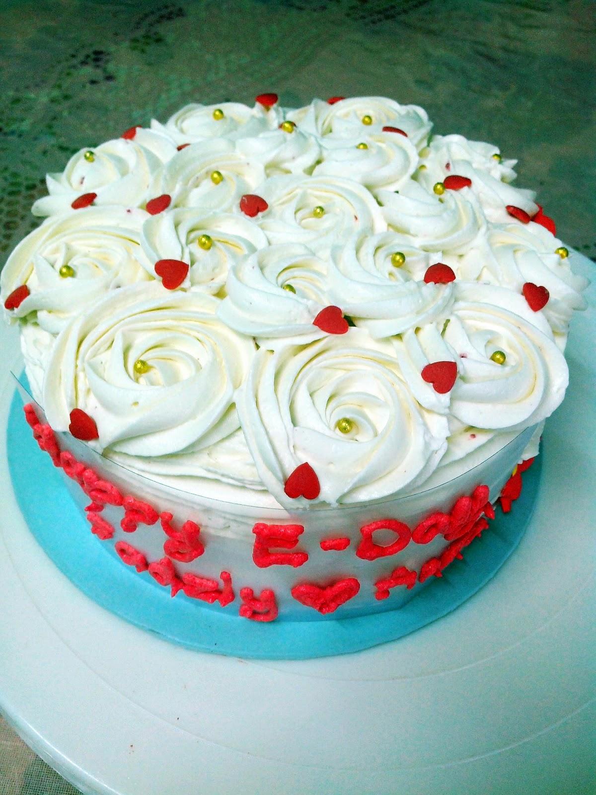 Red Velvet Cake For E Day Kek Red Velvet Bertunang Kek
