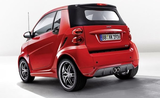 smart BRABUS Xclusive red edition