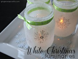 jar candle luminary tutorial