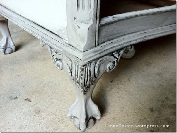 glazed dresser