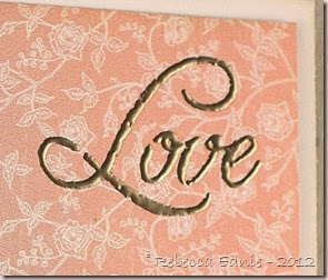 love and bling baby card3