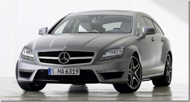 Mercedes CLS 63 AMG Shooting Brake  (1)