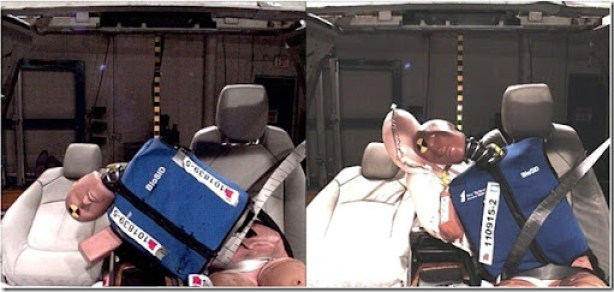 General Motors will introduce the industry's first front center air bag to help protect drivers and front passengers in far-side impact crashes where the affected occupant is on the opposite, non-struck side of the vehicle.