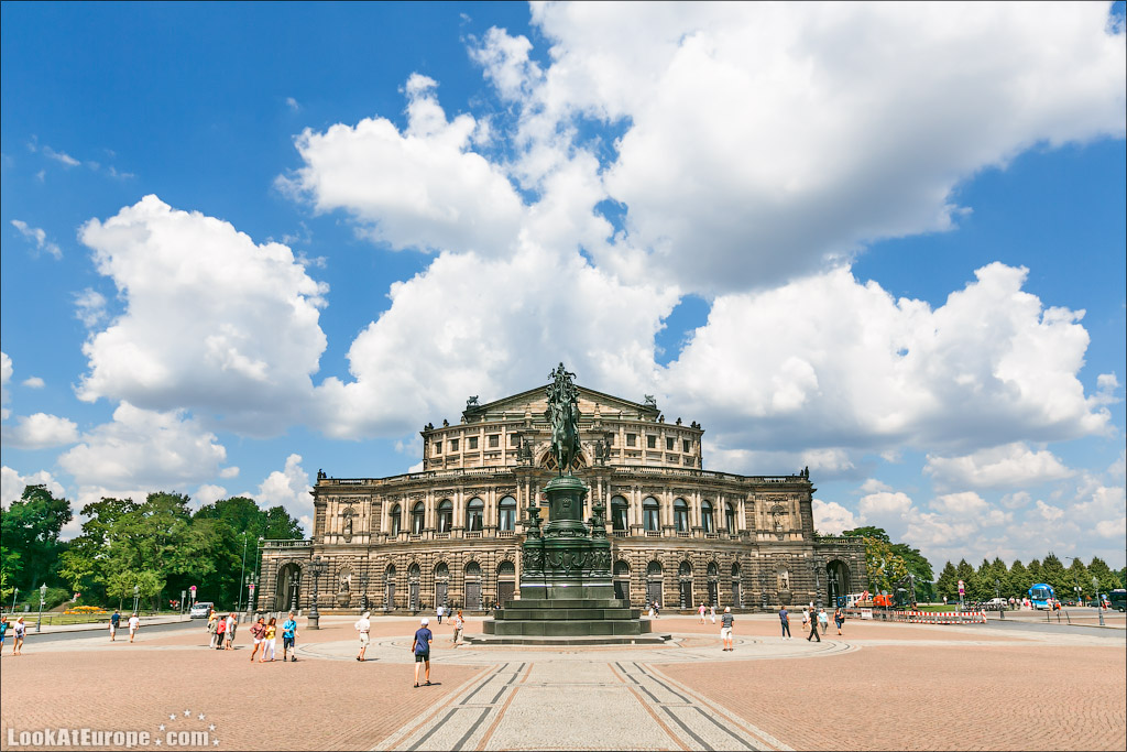 Евротур. Прогулки по Дрездену