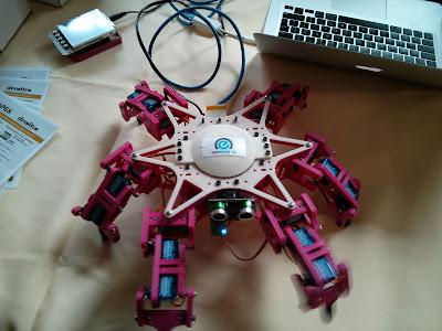 Beaglebone robot