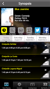 Cinépolis Luxury Cinemas screenshot 1