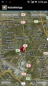 WakeMeApp GPS Alarm screenshot 0