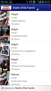 Comic Books Collector VE screenshot 1