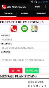 SOS NICARAGUA screenshot 1