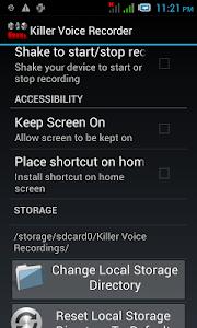 Killer Voice Recorder Pro screenshot 6
