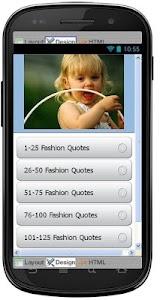 Best Fashion Quotes screenshot 0