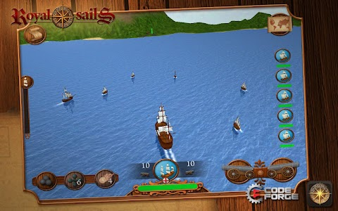 Royal Sails Free screenshot 1