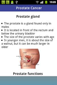 Prostate Cancer screenshot 1