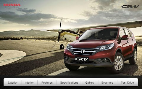 Honda CRV screenshot 0