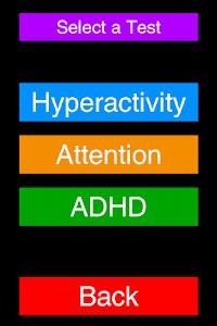 ADHD Test screenshot 1