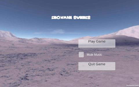 Snowman Runner screenshot 7