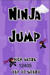 Ninja Jump screenshot 0