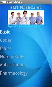 EMT Flashcards screenshot 1