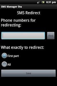 SMS Manager lite screenshot 5