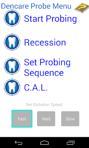 Dental Probing App Hygienist screenshot 0