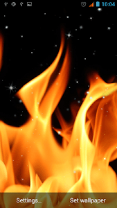 Fire Live Wallpaper screenshot 3