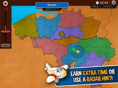 GeoFlight Belgium: Geography screenshot 12