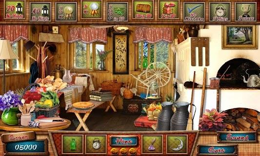 Cabin in Woods - Hidden Object screenshot 00