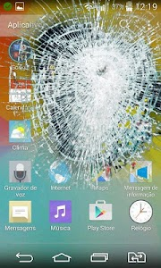 Broken Cracked Screen screenshot 0