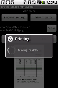 Brother Print Library screenshot 1