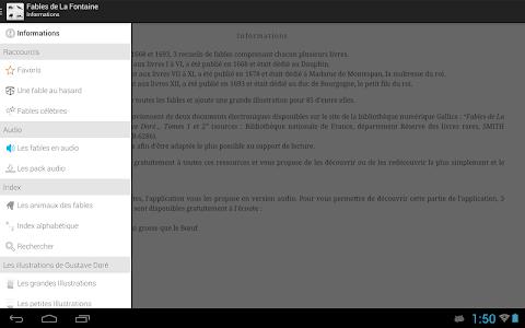 La Fontaine Audio - Sélection screenshot 6