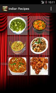 Indian Recipes screenshot 0