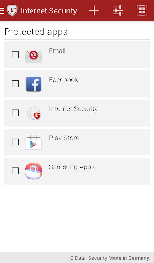 Web Security Apps