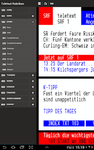 TELETEXT (mobile Website) screenshot 6