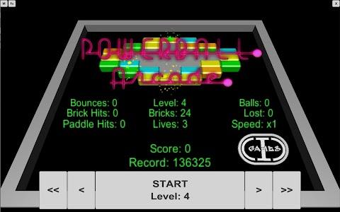 Powerball Arcade (3D Arkanoid) screenshot 2