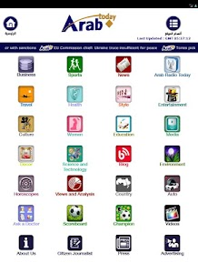 Arab Today mini screenshot 8
